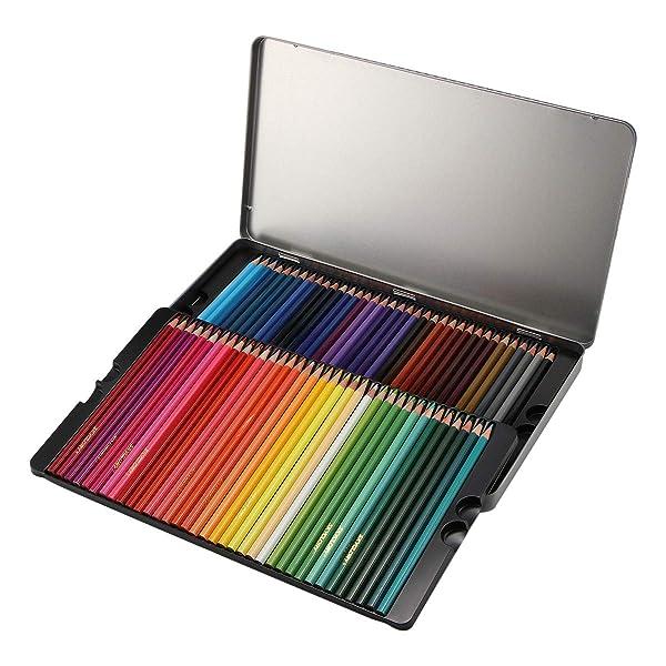 Powstro Colored Pencils, 72-Color Professional Art Drawing Pencils,Oil Pastel Colored Pencils Drawing Wooden Art Pencil Set (72 pcs)
