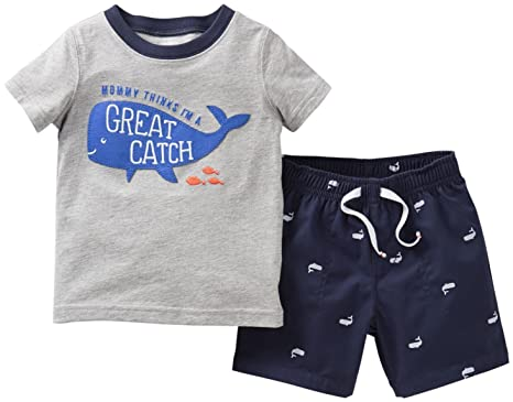 Carter's Boys' 2 Piece Shorts Set (Toddler)