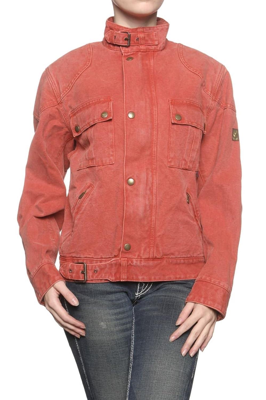 Belstaff Gold Label Damen Jacke Jeansjacke LAWRENCE REPLICA, Farbe: Rot