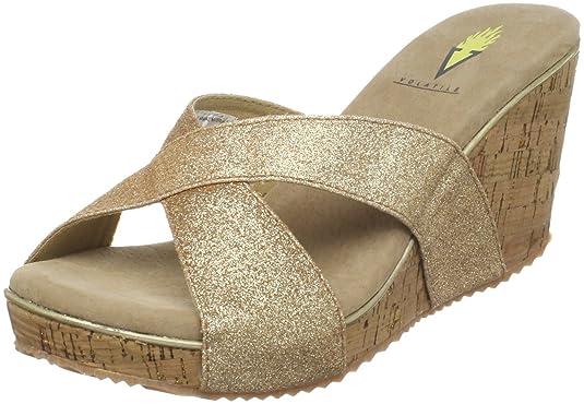 Glitter Wedge Sandal Glitter Wedge Sandal,gold