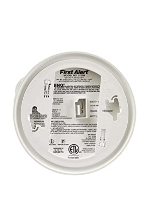 First Alert BRK 3120B-12 Hardwired Photoelectric and Ionization Smoke Alarm with Battery Backup, 12 Pack (Tamaño: 12 Pack)