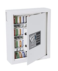 Phoenix KS0032 Key Safe Electronic with Fixings Keyrings and Tags 48 Key 9kg W300xD100xH365mm Ref KS0032       Office ProductsCustomer review and more information