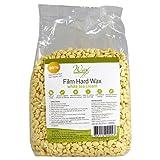 Wax Necessities Film Hard Wax Beads - White Tea Cream 35.27 oz/ 2.2 lb (Color: Cream)
