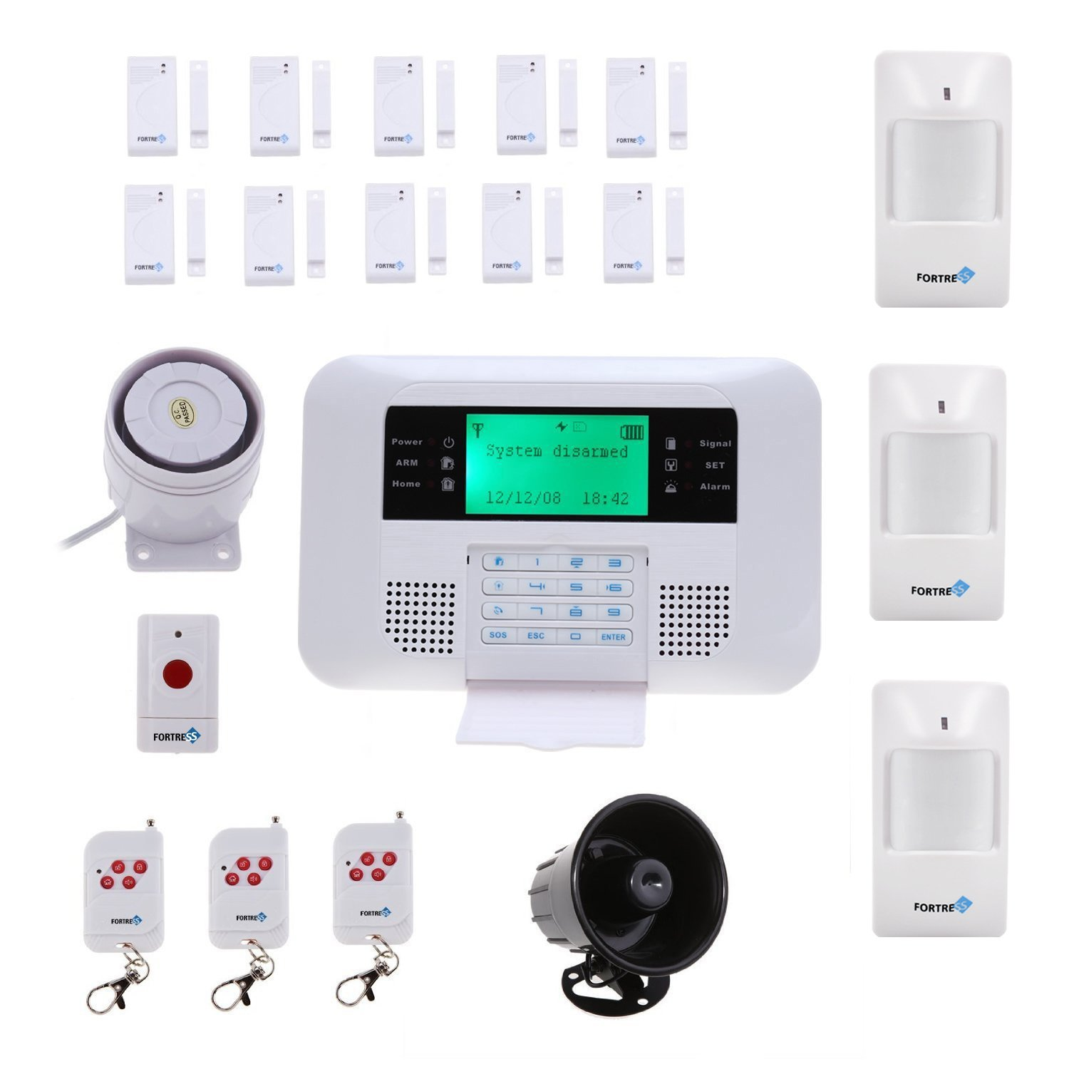 Best home security systems comparison home alarm reviews Diy home automation