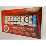 Gamblin 1980 Oil Color Exclusive Set (Color: Multicolor, Tamaño: 37 ml)
