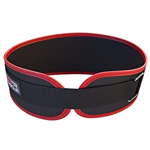 Contoured and Neoprene Lightweight for Comfortable Back Support Workout Weight Lifting Belt for Men and Women + FREE EBOOK Ideal for Squat Small, Medium, Large, Extra Large Powerlifting Deadlift Training