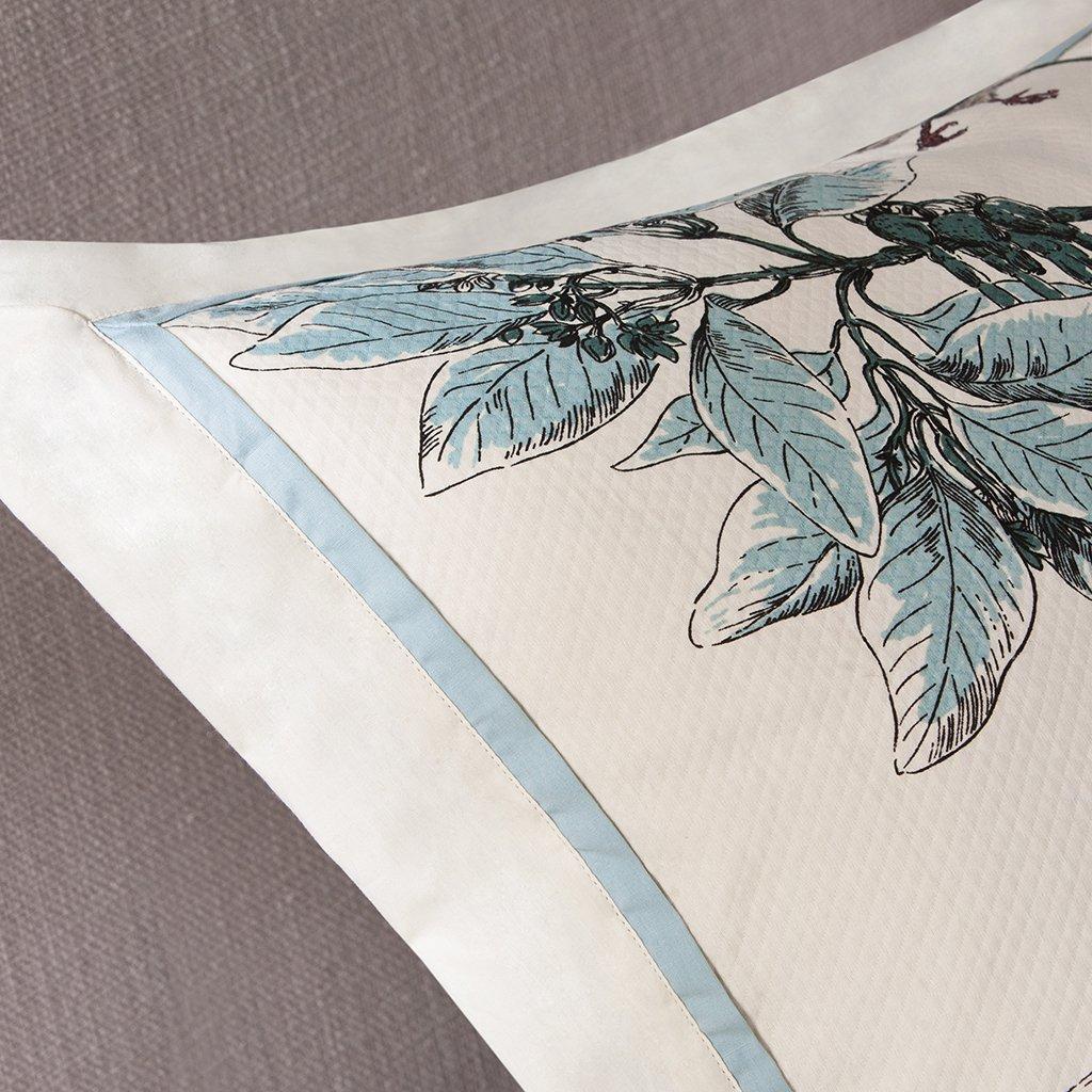 Madison Park Textiles Quincy 7 Piece Comforter Set, Queen, Khaki