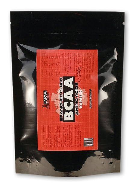 XLarge Nutrition BCAA Kapseln - 500 Kapseln, Beutel