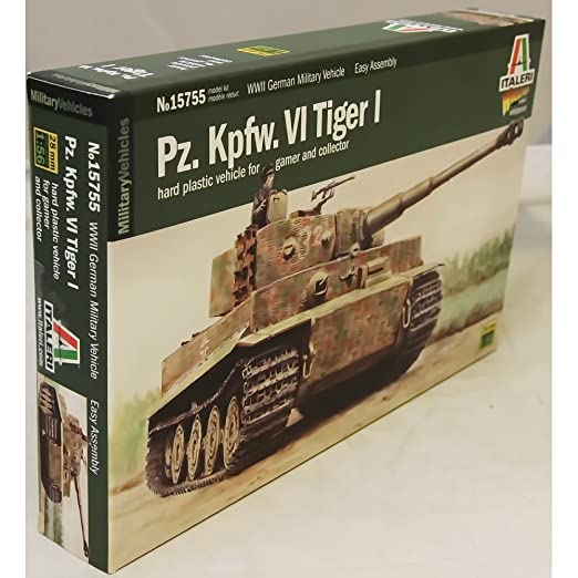 Model Kit - Pz. Kpfw. VI Tiger I - 1:56 Scale
