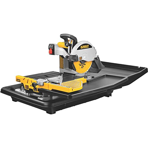 DEWALT D24000-1.5 Horsepower-10 Inch-Wet Tile-Saw