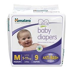 Himalaya Baby Medium Size Diapers (9 Count)