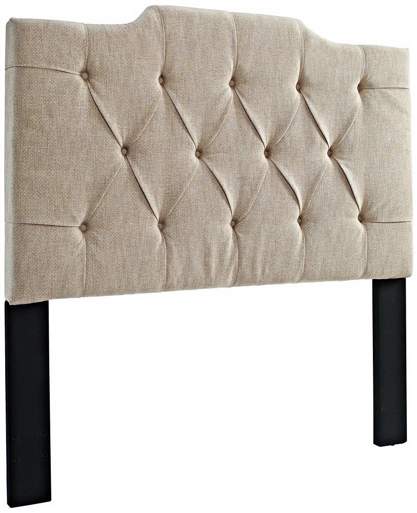 Pulaski Everly Panel Tufted Linen Headboard