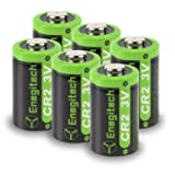 Enegitech CR2 3V Lithium Battery 800mAh 6 Pack with PTC Protection DL-CR2 for Laser Boresighter Laser Pointer Golf Rangefinder Funifilm Instax Mini55 Baby Monitor Flashlight (Color: silver52, Tamaño: CR2 3V 800mAh 6Pack)