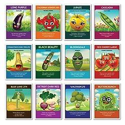 Zziggysgal 12 Heirloom Varieties of Vegetable Seeds