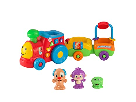 Fisher-Price – Laugh & Learn – Puppy's Smart Stages Train – Le Petit Train Version Anglaise