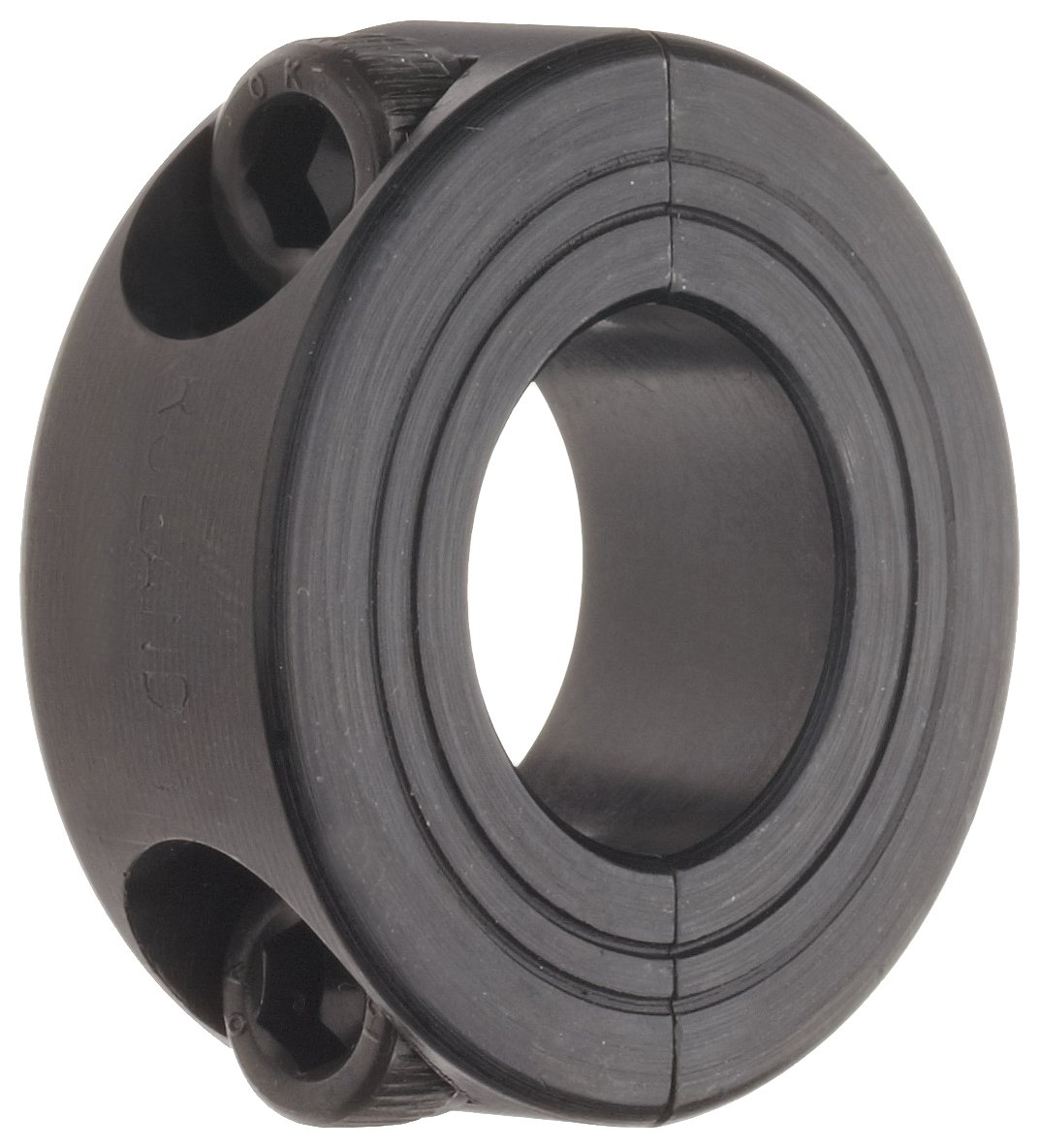Ruland MSP-13-F Two-Piece Clamping Shaft Collar, Black Oxide Steel, Metric, 13mm Bore, 30mm OD, 11mm Width (Pack of 2) nsk 6207nr deep groove ball bearing single row open snap ring pressed steel cage normal clearance metric 35mm bore 72mm od 17mm width 9500rpm maximum rotational speed 3440lbf static load capacity 5778lbf dynamic load capacity