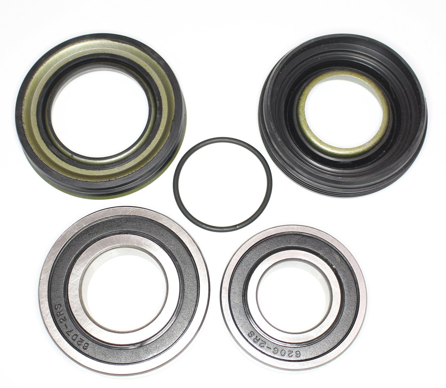 Maytag Neptune Washer Front Loader (2) Bearings, 2 Oil Seals, O-Ring kit 12002022