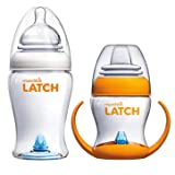 Munchkin Latch 8 Ounce BPA-Free Bottle with Transition Training Cup