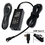45W USB-C Adapter Charger Power Supply for HP Spectre x360 13 HP Pavillion X2; Lenovo Thinkpad X1 Tablet Yoga 910 720 13