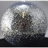 Vintage Paint Chrome Silver 0.035 Square Metal Flake - 3 Ounce (Color: Silver)