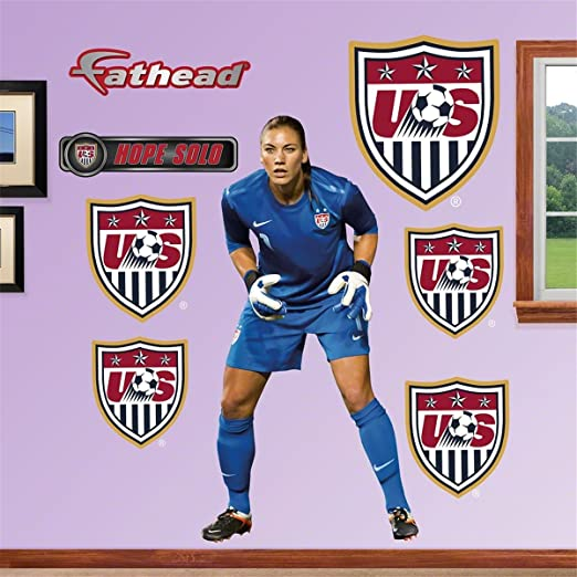 Olympic Hope Solo Real Big Fathead Wall Graphic