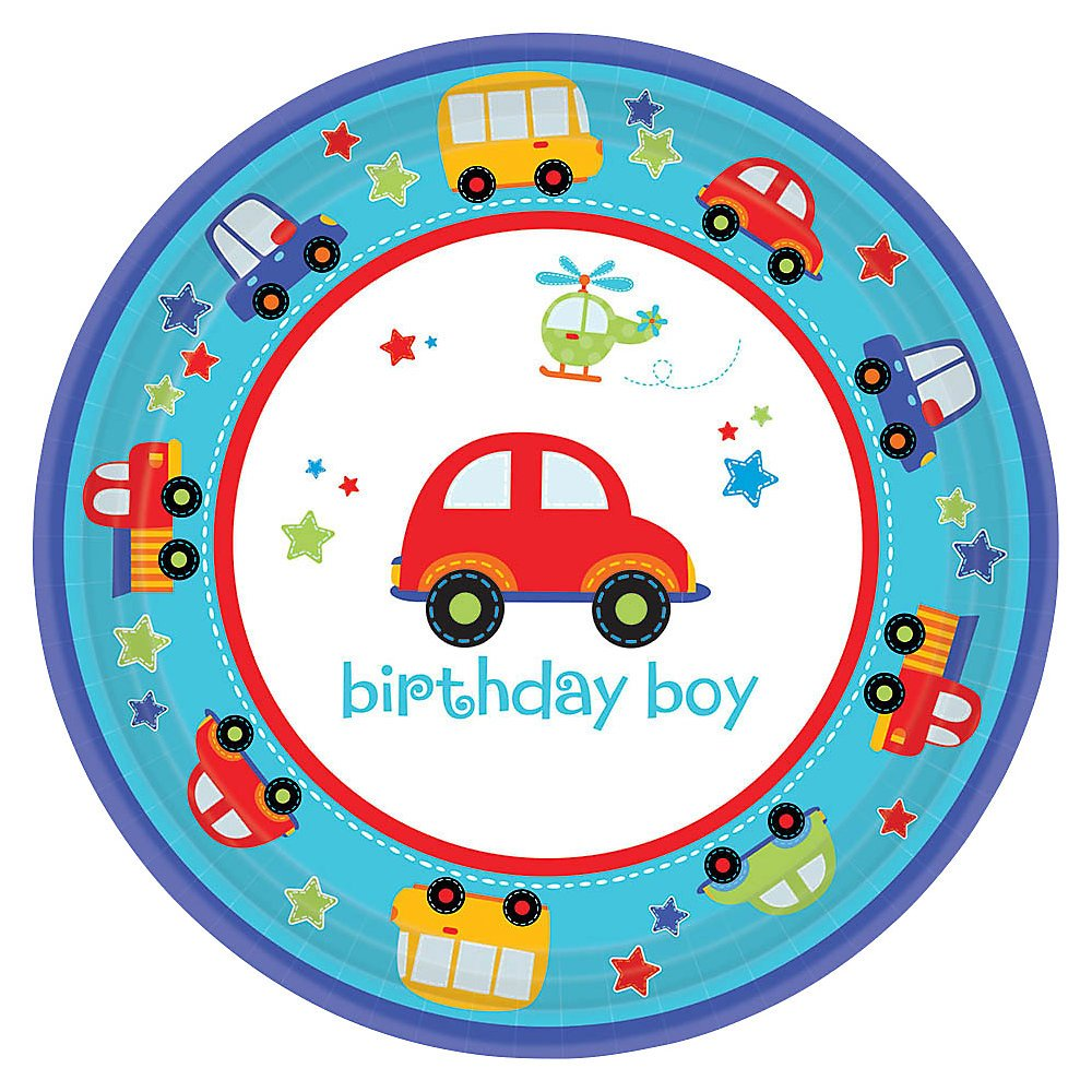 All Aboard Boys First Birthday Party Supplies