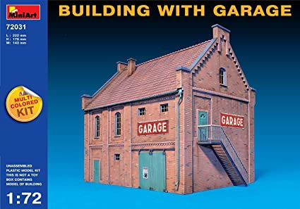 Maquette Maison avec garage
