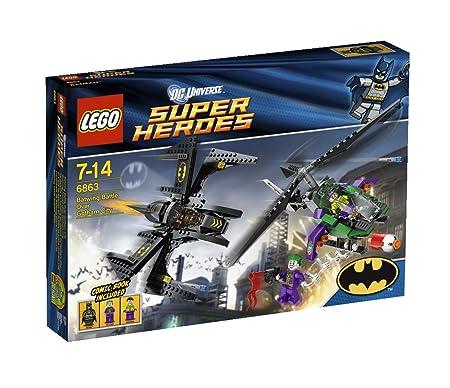 Lego Super Heroes – 6863 – La Bataille en Batwing au-dessus de Gotham City
