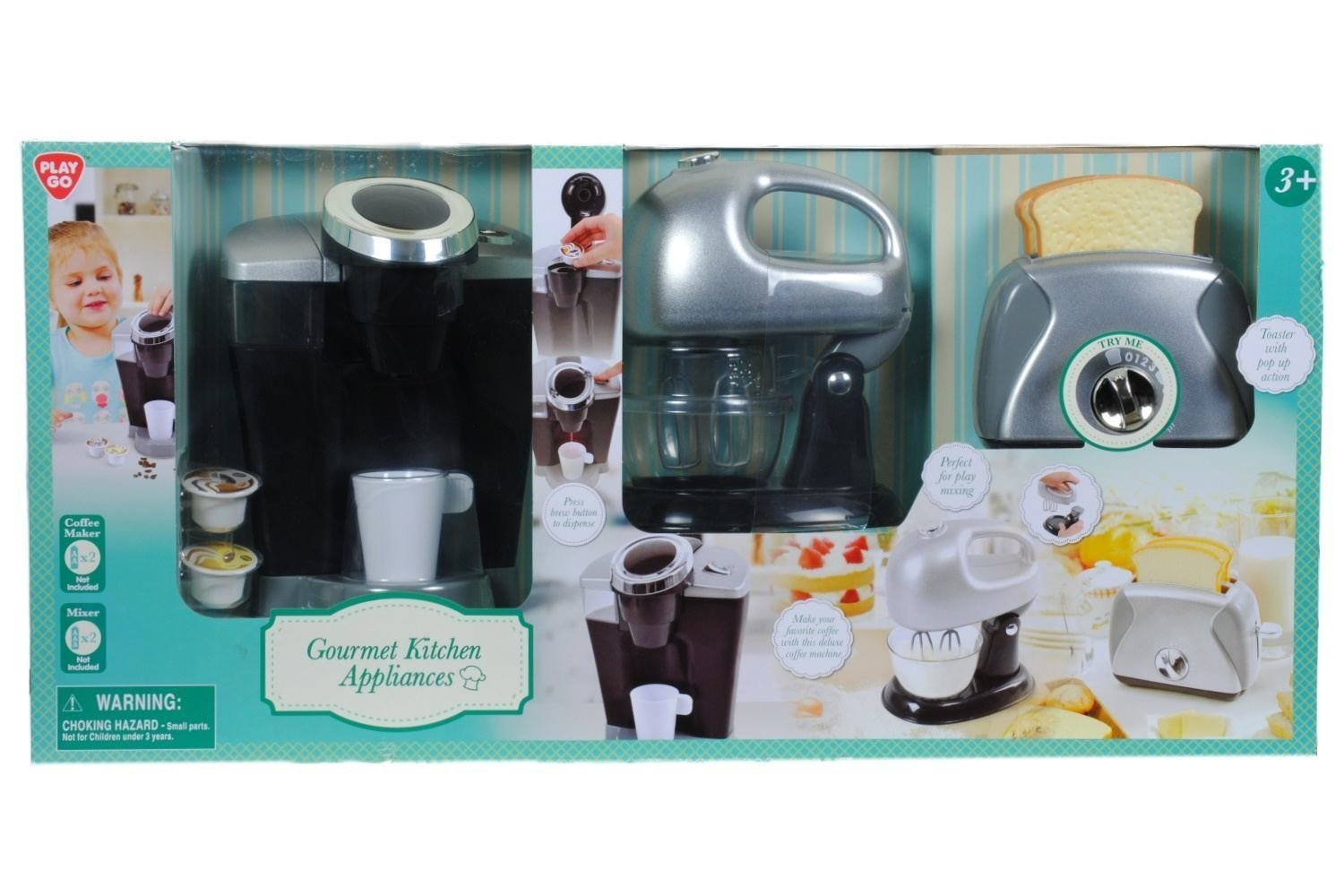 Playgo Pretend Play Gourmet Kitchen Appliance Set