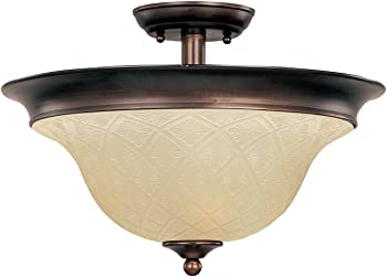 Maxim Lighting 3-Light Semi-Flush Mount