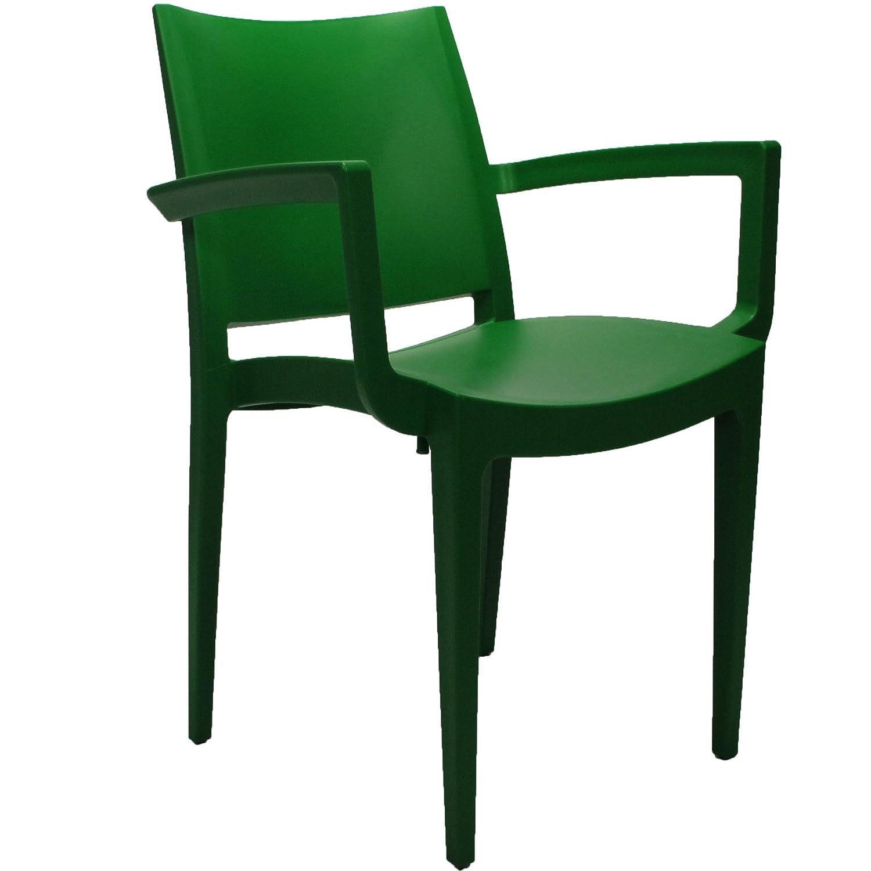 Veloso Gartenstuhl dunkelgrün online kaufen