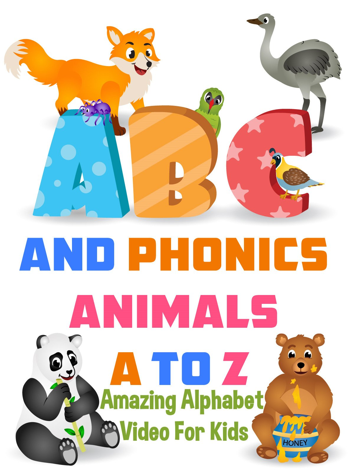 ABC and Phonics Animals A to Z
