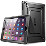 iPad Air 2 Case, SUPCASE Apple iPad Air 2 Case [2nd Generation] 2014 Release [Unicorn Beetle PRO Series] Full-body Rugged Hybrid Protective Case Cover with Built-in Screen Protector, Black/Black (Color: Black)