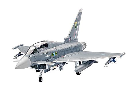 Revell - 64879 - Maquette D'aviation - Model Set - Eurofighter Typhoon - 83 Pièces - Echelle 1/144