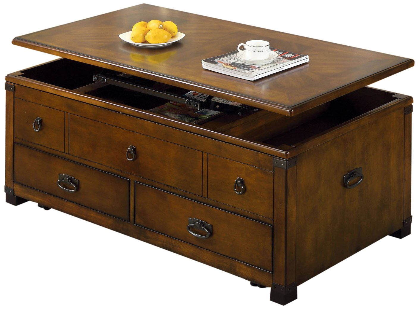 America Fortsworth Coffee Table with Lift Top Storage image