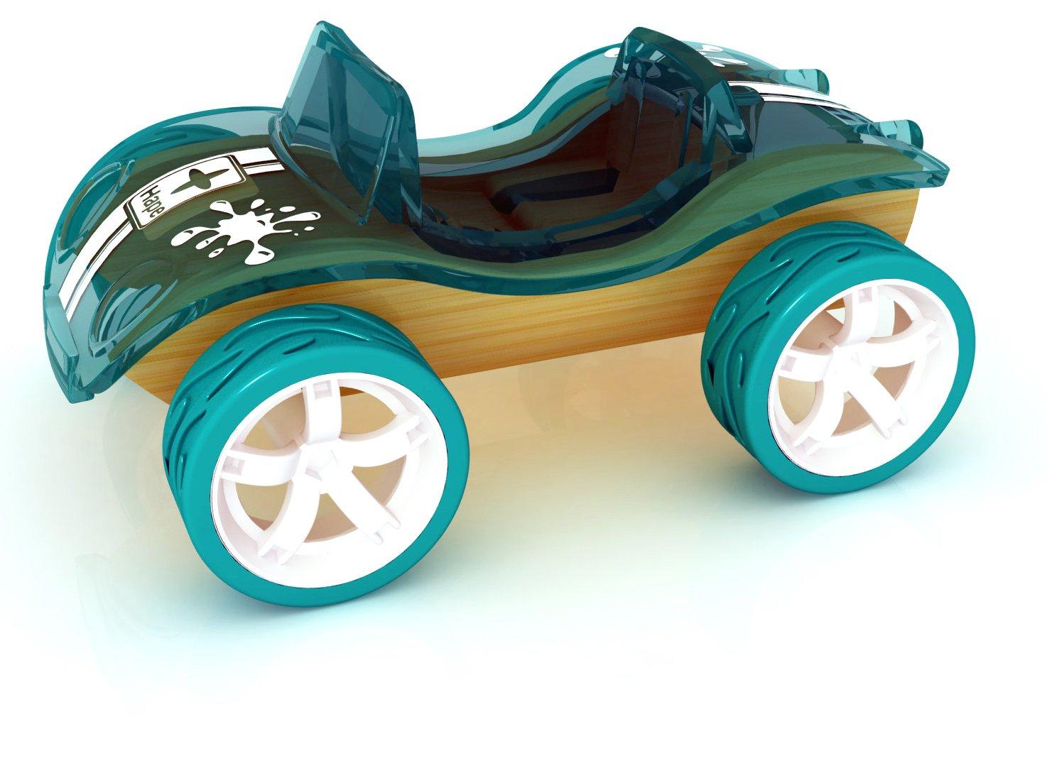 Hape Bamboo Mini Beach Buggy