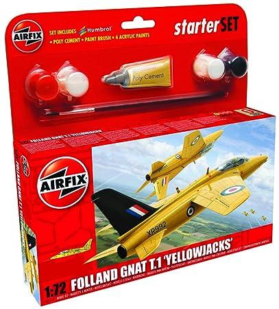 Airfix - AI55112 - Maquette - Yellowjacks Gnat - Echelle 1:72
