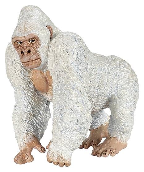 Papo - 50204 - Figurine - Animaux  - Albinos-Gorille