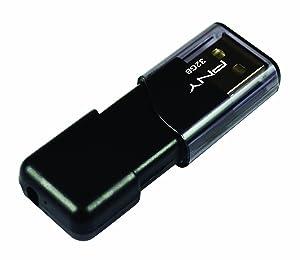 PNY Attache III 32 GB USB 2.0 Flash Drive (P-FD32GATT03-GE)
