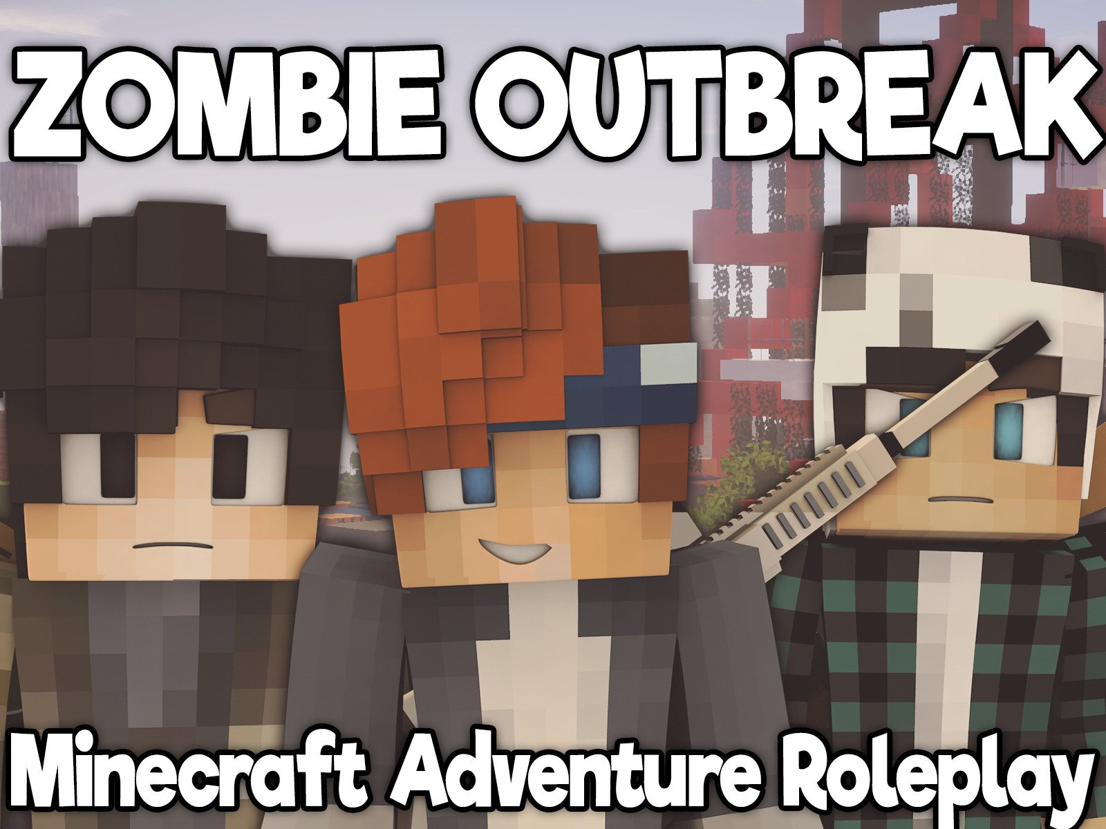 Clip: Zombie Outbreak (Minecraft Adventure Roleplay)