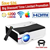 Video Projector WiFi Wireless Max 200