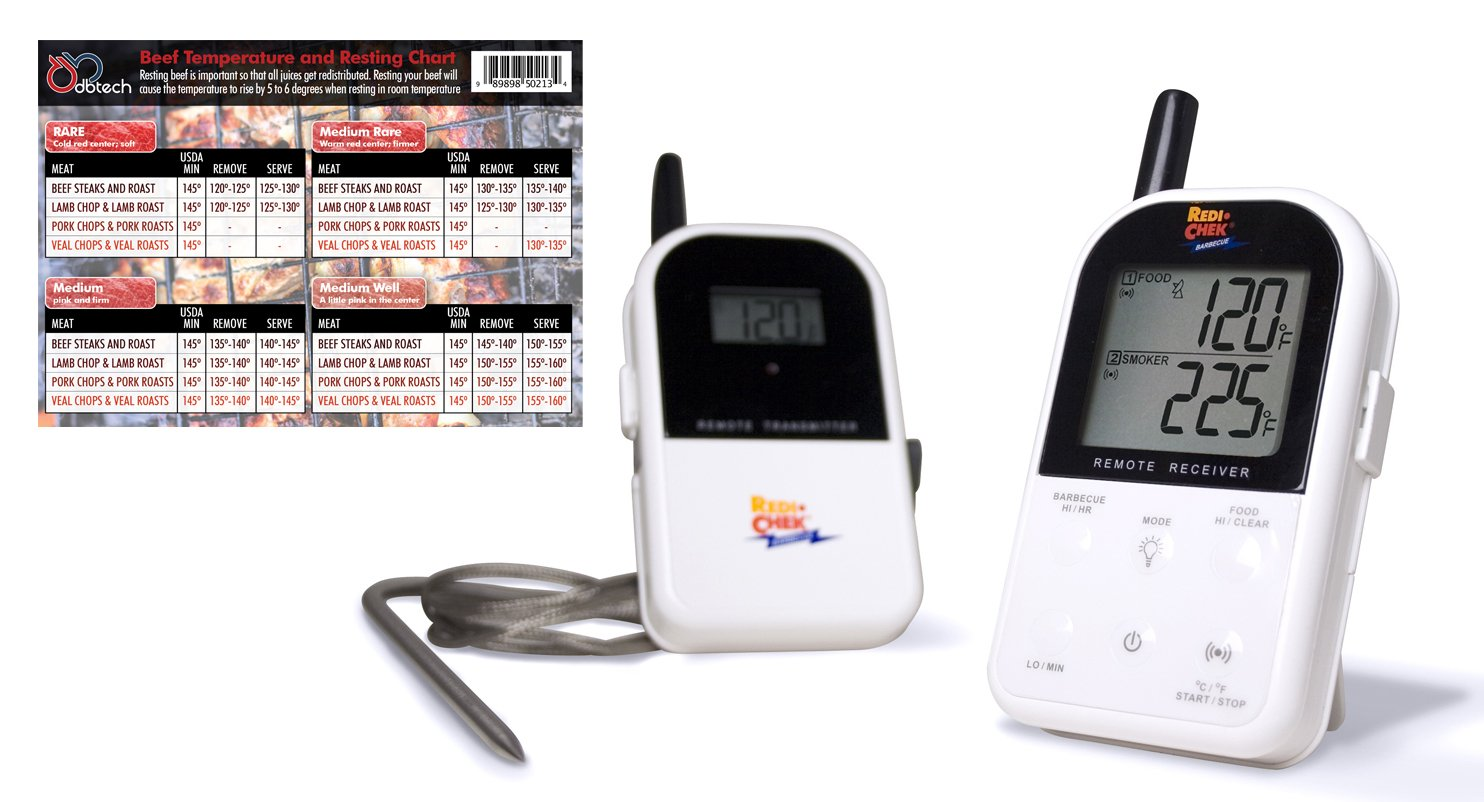 Maverick ET732 Long Range Wireless Dual 2 Probe BBQ Smoker Meat Thermometer Set $59.99