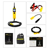 AUTOOL BT260 Electrical System Diagnostic Tool 6-30V Automotive Circuit Tester with LED Flashlight for 6V/12V/24V Vehicle/Boat/Motorcycle/Heavy Duty/Truck Circuit System