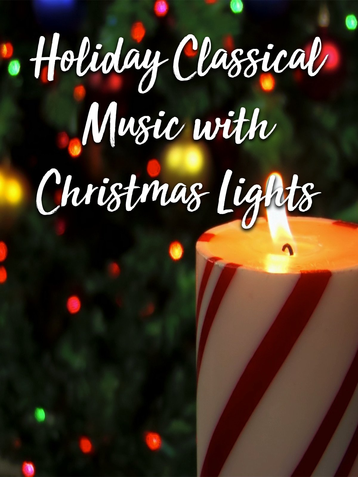 Holiday Classical Music with Christmas Lights
