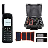 SatPhoneStore Iridium 9555 Satellite Phone Emergency Responder Package with Pelican Case, Solar Charger, Charging Dock, Extra Battery & Prepaid 1200 Minute SIM Card Ready for Easy Activation (Color: 5: 1200 Minutes)