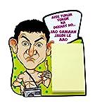Home Blendz Aamir Fridge Magnet with Note pad