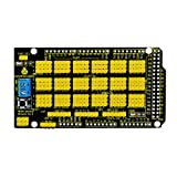 KEYESTUDIO MEGA Sensor Shield V1 for Arduino MEGA 2560 R3 (Color: MEGA Sensor Shield V1)