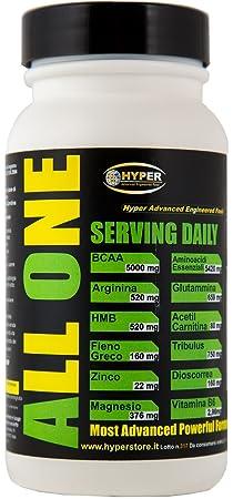 3 Flasche mit 200 Tabletten 260 gr Nahrungsergänzungsmittel, um die Erholung der Muskeln mit zu unterstutzen: BCAA , Essentielle Aminosäuren (Phenylalanin, Isoleucin, Leucin, Methionin, Threonin, Tryptophan, Valin), Glutamin , Arginin , HMB, Ace