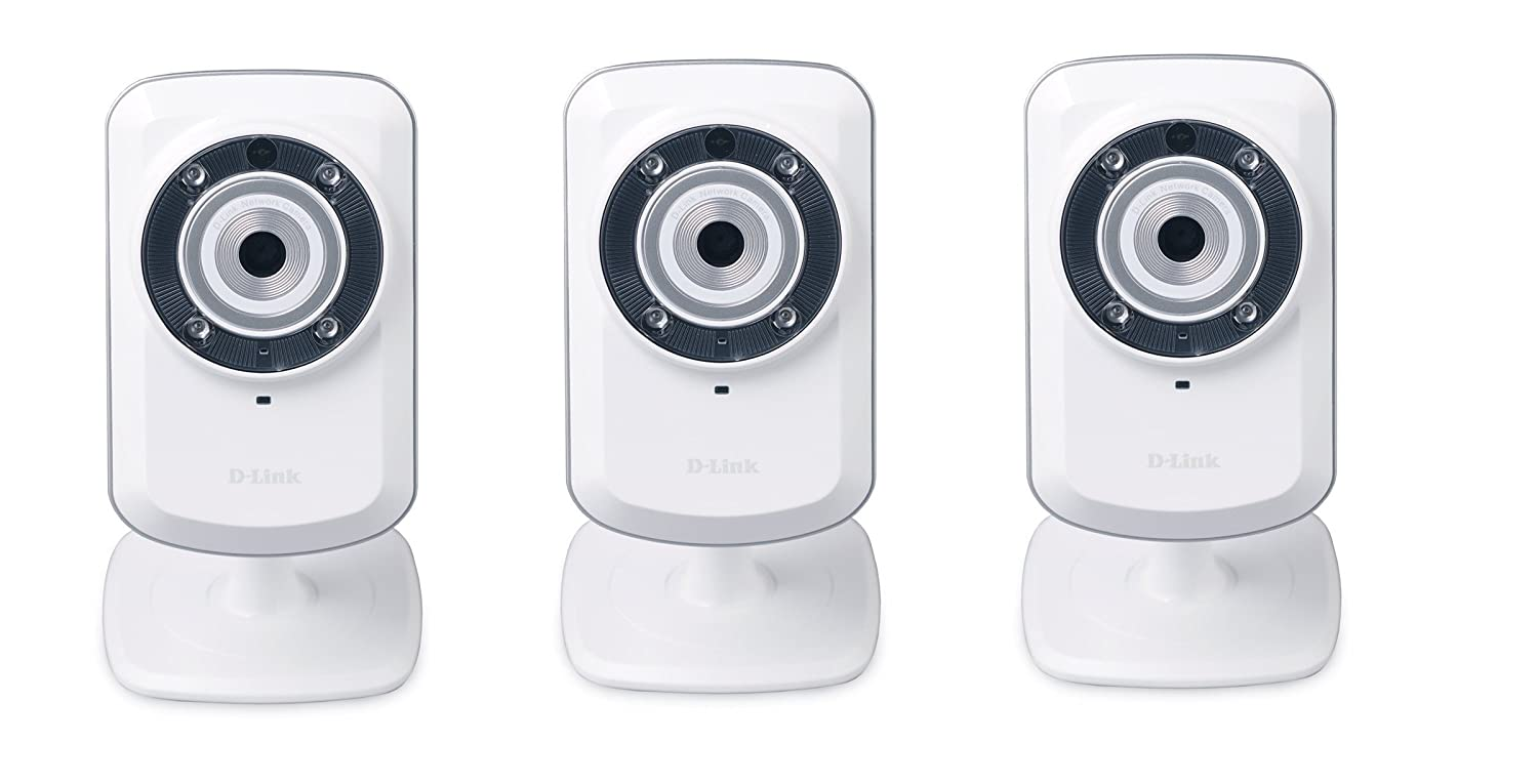 3-Pack D-Link Wireless Day/Night Network Surveillance Camera with mydlink-Enabled (DCS-932L) global elementary coursebook with eworkbook pack