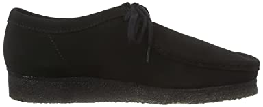 Wallabee: Black Suede